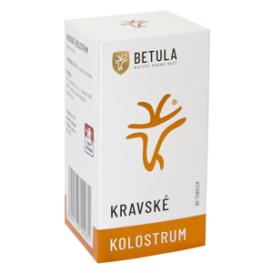 Betula - Kravské kolostrum (colostrum), 250 mg, 60 kapslí