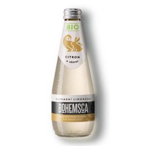Bohemsca Bio Zahradní limonáda Citron a zázvor, 330 ml