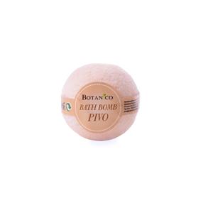 BOTANICO - bath bombs (šumivá koupelová koule), 50g - pivo