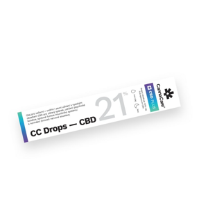 CannaCare Kapky CC Drops s CBD 21%, 7 ml