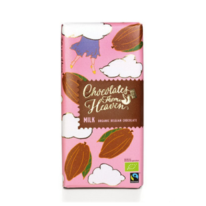 Chocolates from Heaven - BIO mléčná čokoláda 39%, 100g
