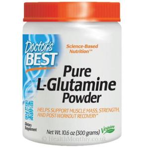 Doctor's Best Doctor's Best L-Glutamine Powder, 300 g
