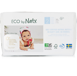 ECO by Naty Naty - Plenky Mini 3-6 kg (33 ks)