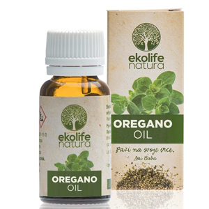 Ekolife Natura - Oil of Origanum 10ml (Esenciální olej z Oregána)