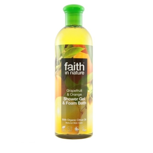 Faith in Nature, Sprchový gel - BIO Grapefruit & Pomeranč, 400ml