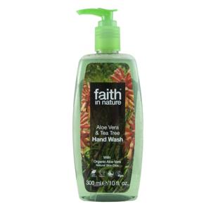 Faith in Nature, Tekuté mýdlo s Aloe vera a Tea Tree, 300ml