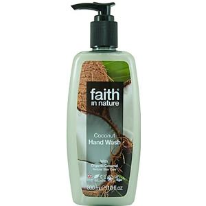 Faith in Nature, Tekuté mýdlo s kokosem, 300ml
