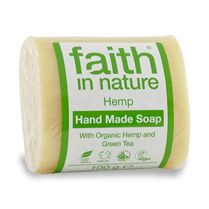 Faith in Nature, Tuhé mýdlo - HEMP Citrus/Konopí, 100g