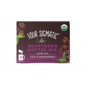 Four Sigmatic Ashwagandha & Chaga Adaptogen Coffee Mix Množství: 10 sáčků