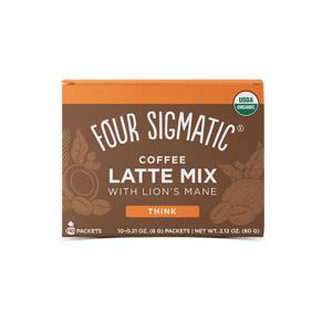 Four Sigmatic Lion's Mane Mushroom Coffee Latte mix Množství: 10 sáčků