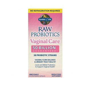 Garden of life Dr. Formulated Raw Probiotics Vaginální péče, 30 rostlinných kapslí