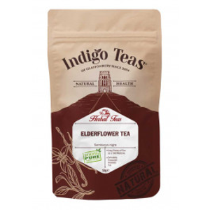 Indigo Herbs Elderberry tea powder - bezinkový ča, 50 g