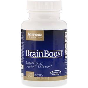 Jarrow Formulas Brain Boost (podpora mozku), 60 kapslí