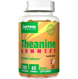 Jarrow Formulas Jarrow Theanine Gummies, L-Theanine, 100 mg, 60 gumových bonbónů