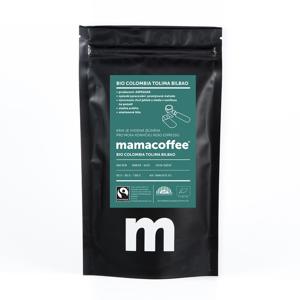 Mamacoffee - Bio Colombia Tolima Bilbao ASPRASAR, 100g Druh mletí: Zrno *CZ-BIO-001 certifikát