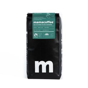 Mamacoffee - Bio Colombia Tolima Chaparral, 1000g Druh mletí: Zrno *cz-bio-002 certifikát