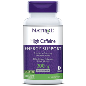 Natrol High Caffeine 200 mg (kofein), 100 tablet