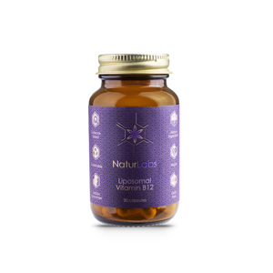 NaturLabs - Liposomální vitamín B12, 30 kapslí