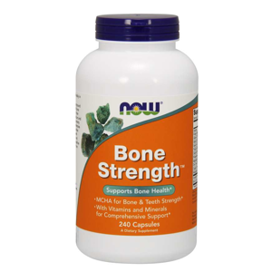 NOW® Foods NOW Bone Strength (silné kosti), 240 kapslí