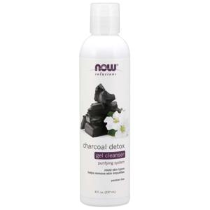 NOW® Foods NOW Charcoal Detox Gel Cleanser (čistící gel s aktivním uhlím), 237 ml