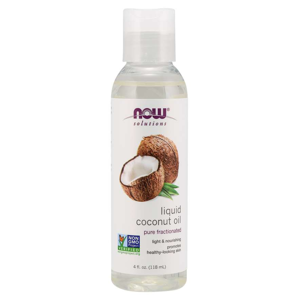 NOW® Foods NOW Coconut oil (kokosový olej), Liquid Pure Fractionated, 118 ml