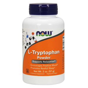 NOW® Foods NOW L-Tryptophan Powder, 57g