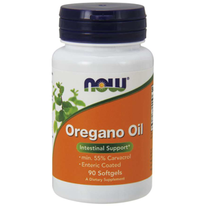 NOW® Foods NOW Oregano Oil (oreganový olej), 90 enterosolventních softgel kapslí