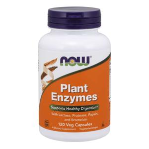 NOW® Foods NOW Plant Enzymes, rostlinné enzymy, 120 rostlinných kapslí