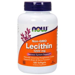 NOW® Foods NOW Sunflower Lecithin (slunečnicový lecitin), 1200 mg, 100 softgelových kapslí