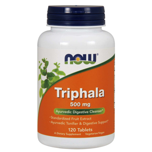 NOW® Foods NOW Triphala, 500 mg, 120 tablet