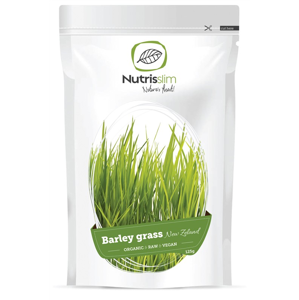 Nutrisslim Barley Grass Powder (New Zealand) 125g Bio SI-EKO-001 certifikát