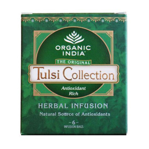 Organic India Tulsi Collection 6 čajů