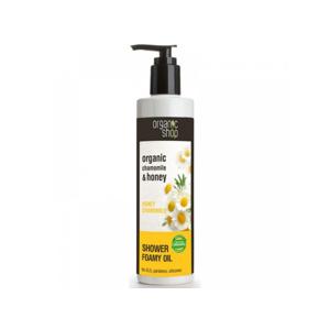 Organic Shop - Heřmánek & Med pečující sprchový olej, 280 ml