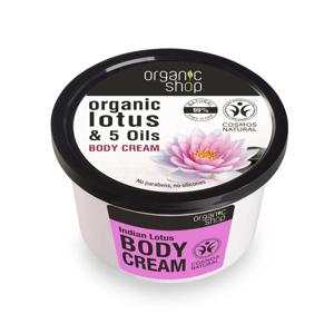 Organic Shop - Tělový krém Indiánský lotos, 250 ml