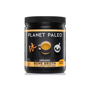 Planet Paleo Collagen Bone Broth, Golden Turmeric (kolagenový vývar s kurkumou), 450g