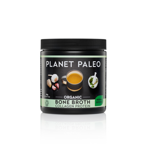 Planet Paleo Collagen Bone Broth Herbal Defense (kolagenový vývar s bylinkami), 225g