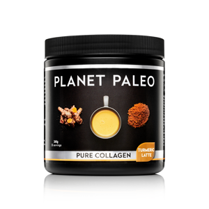 Planet Paleo Pure Collagen, Kurkuma Latte, 260g