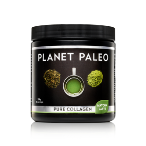 Planet Paleo Pure Collagen, Matcha Latte, 225g