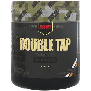 Redcon1 - Double Tap powder,  200g Příchuť: Orange Crush