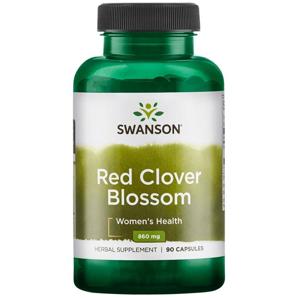 Swanson Red Clover Blossom (Jetel červený), 430 mg, 90 kapslí