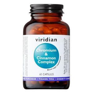 Viridian Chromium & Cinnamon Complex 60 kapslí