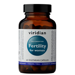 Viridian Fertility for Women 60 kapslí