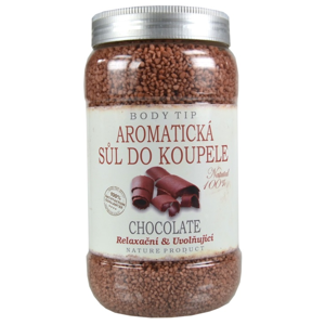 Vivaco Aromatická sůl do koupele Čokoláda BODY TIP 1200 g