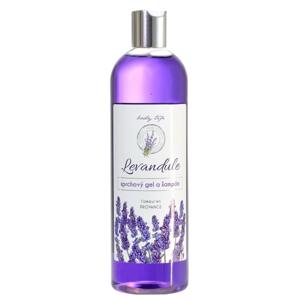 Vivaco Body Tip Sprchový gel a šampon s levandulovým olejem BT Premium 500 ml