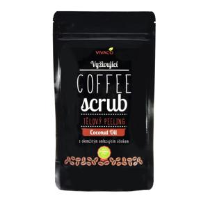 Vivaco Coffee scrub Tělový kávový peeling Kokos 200 g