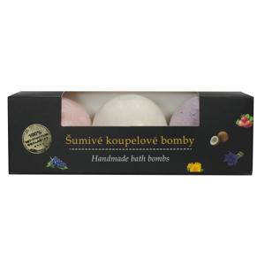 Vivaco Koupelová bomba Hrozno, Kokos, Jahoda BODY TIP 3 x 45 g