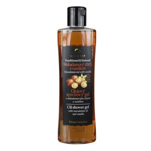 Vivaco Olejový sprchový gel Makadamový ořech s vanilkou BODY TIP 200 ml
