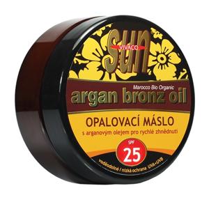 Vivaco Opalovací máslo s bio arganovým olejem SPF 25 SUN VITAL 200 ml