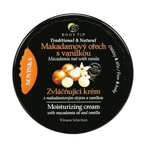 Vivaco Zvláčňující krém Makadamový ořech s vanilkou BODY TIP 200 ml